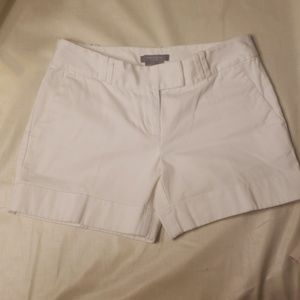 Ann Taylor White Shorts